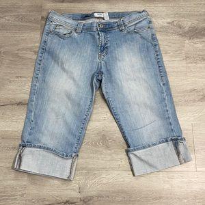 Old Navy Bermuda Jean Shorts